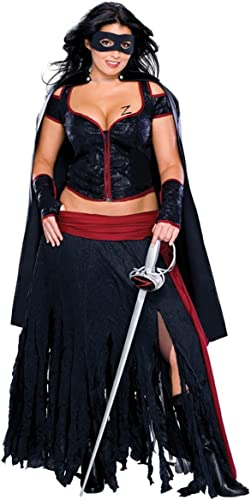 Rubie's-déguiseHommest officiel - Zorro - Costume DéguiseHommest Adulte Sexy Lady - Taille S- I-888655S