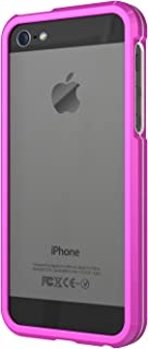 XtremeMac IPP-ABN-23 Aluminum Border Case for iPhone 5/5s Pink