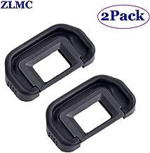 ZLMC EB Eyepiece Eyecup, Replacement for Canon EOS 5D Mark II / 5D / 6D / 70D / 60D / 60Da / 50D / 40D DSLR Camera Viewfinder blinkers Eye Cup