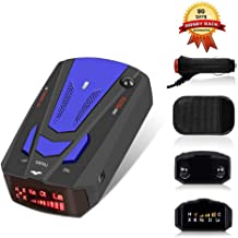 $22 » Laser Radar Detector for Cars,Voice Prompt Speed, Vehicle Speed Alarm System,LED Display,City/Highway Mode,Auto 360 Degree Detection for Cars(FCC)