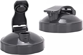 NutriBullet Flip Top To-go Lid - Premium NutriBullet Accessories & Replacement Parts (Pack of 2) by Preferred Parts