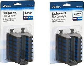 Aqueon Quietflow Internal Filter Cartridge Large 4Count
