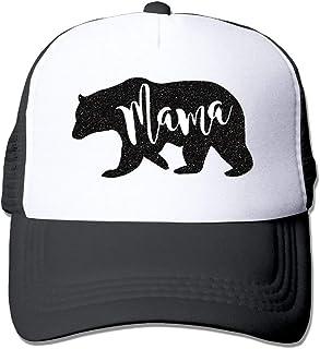 501ac55e22c0ab Eveler Adult's Mama Bear Adjustable Casual Cool Baseball Cap Mesh Hat  Trucker Caps