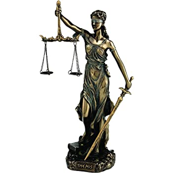 akt-rE Justice museumskollektion dars-bavaria statue