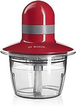 Bosch MMR08R2 - Picadora,  400 W, 1.3, Plástico, Rojo