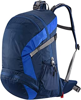 Outdoor Mountaineering Bag Bicycle Backpack Hiking Backpack Multi-Function Travel Backpack Large Capacity Light Weight Annacboy (Color : Blue)