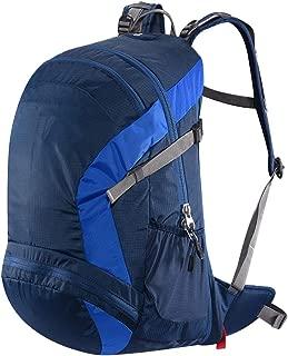 Outdoor Travel Hiking Bag Men and Women Waterproof Shoulder Hiking Boarding backpack Annacboy (Color : Blue)