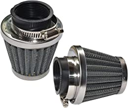 Baitaihem Pack of 2 Motorcycle POD Air Filter Dirt Pocket Bike ATV Pit Bike 35 38 39 40 42 46 48 50 52 54mm (50mm)