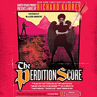 The Perdition Score     A Sandman Slim Novel              By:                                                                                                                                 Richard Kadrey                               Narrated by:                                                                                                                                 MacLeod Andrews                      Length: 9 hrs and 49 mins     1,239 ratings     Overall 4.6