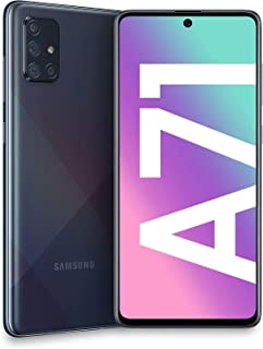 """Samsung Galaxy A71 (128GB, 6GB) 6.7"""", 64MP Quad Camera, 25W Fast Charger, Android 10, GSM Unlocked US + Global 4G LTE Inte..."""