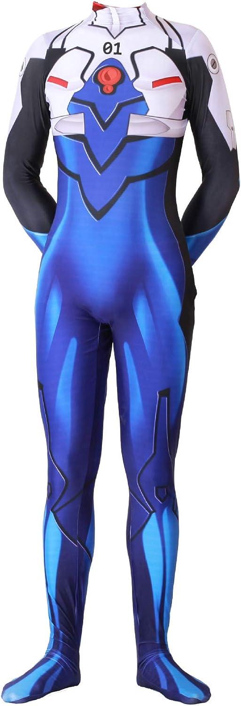 Ajedacos Zentai Blue Ikari Shinji Halloween Co Large discharge sale Dedication Cosplay Superhero