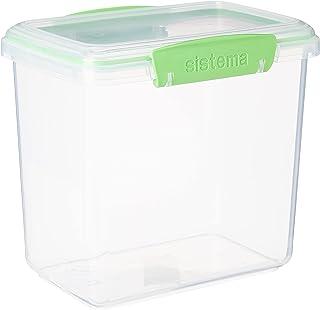 Sistema pojemnik do przechowywania świeżej żywności - 1,9 l, przezroczysty/zielony