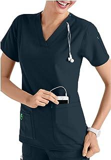 Smart Uniform 5 Pocket V-Neck Media Top Schlupfjacke