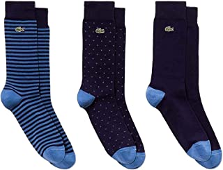 Pack Lacoste Blue Socks For Man