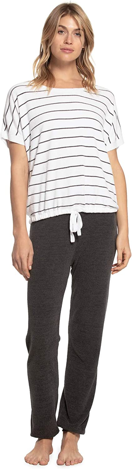 Barefoot Dreams CozyChic Ultra Lite Dr Striped Women's Fees free Pullover Ranking TOP19