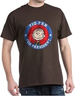 Pig Pen for President - Peanuts Cotton T-Shirt