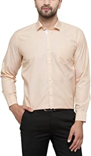 JAINISH Men's Cotton Solid Formal Shirt