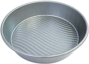USA Pan Patriot Round 9 inch Baking Cake Pan, Aluminized Steel