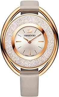 Ladies' Swarovski Crystal Crystalline Oval Rose Gold Tone Watch 5158544