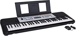 $114 Get Yamaha YPT260 61-Key Portable Keyboard with Power Adapter (Amazon-Exclusive) (Renewed)