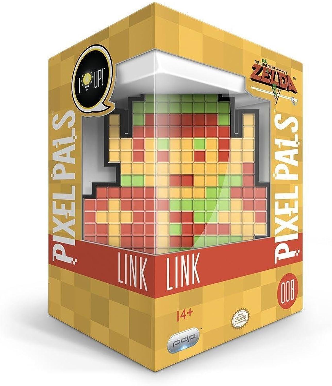 comprar descuentos PDP Pixel Pals Legend Of Zelda  Link Link Link - 8-Bit Edition Light Up DisJugar 008 NEW  envío rápido en todo el mundo