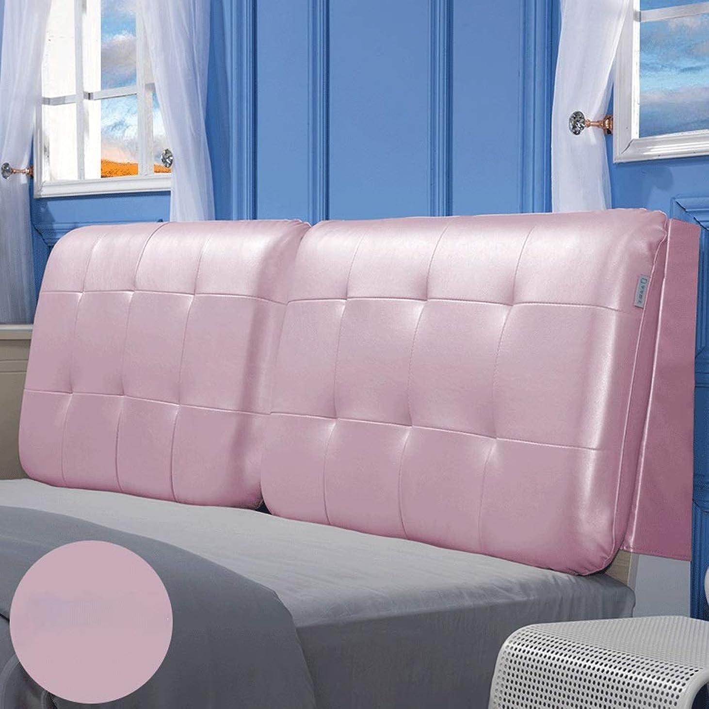 キャンバス寓話ギャラントリーGLP ヘッドボードクッションソフトパック畳ベッドヘッドクッションラージバッククッションベッドヘッドカバーレザーモダン4サイズ、13色、2タイプ (Color : 11#-With headboard, Size : 120X10X60cm)