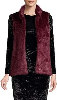 Womens Winter Faux Fur Outerwear Vest