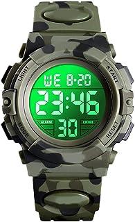 Orologio Bambino XYBB Orologi sportivi 50M Orologio da polso elettronico impermeabile Cronometro Orologio digitale per bam...