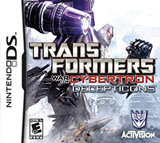transformers war for cybertron ds