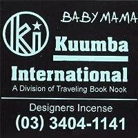 KUUMBA/クンバ『incense』(BABY MAMA) (Regular size)