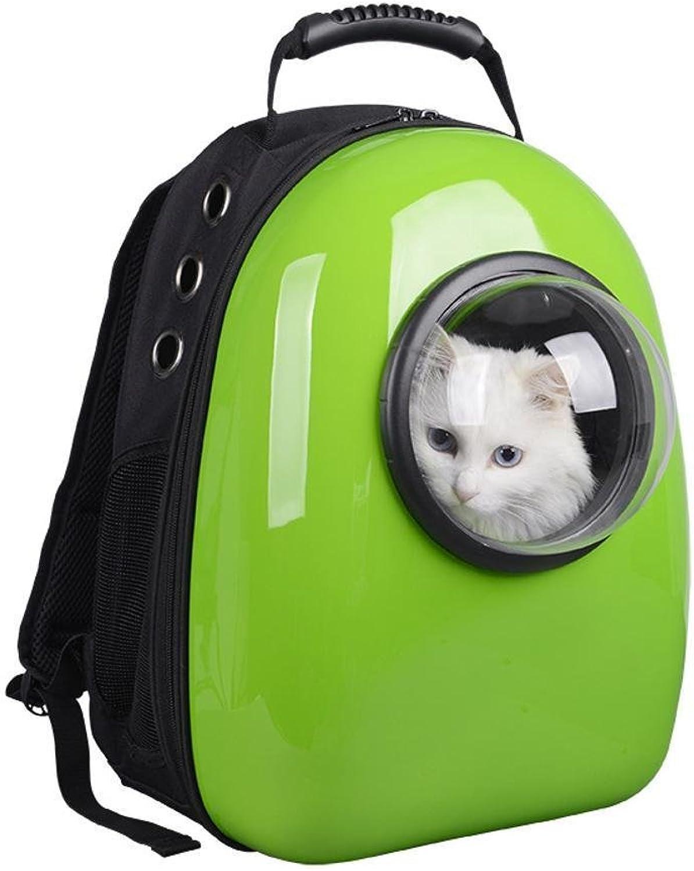 Daeou Pet Backpack Pet Astronaut Space Bag Deluxe Space Capsule Pet Bag Double Shoulder pet Backpack PVC 30  28  44cm