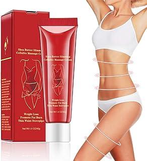 Anti Cellulite Cream - Krachtige huidverstevigende anti-Cellulite formule, Natuurlijke behandeling om de huid strakker te ...