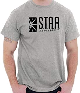 Star Labs Comic Book Superhero Nerdy Geeky T Shirt Tee
