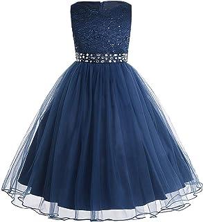 festliches kleid mädchen hellblau