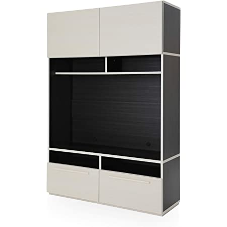 LOWYA ロウヤ 壁面収納 テレビ台 テレビボード ハイタイプ TV台 収納 180 国産 ホワイト