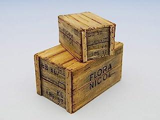 コバアニ模型工房 1/24 スウィートスタイルシリーズ 木箱セットC 2ヶ入 組立キット SS-012