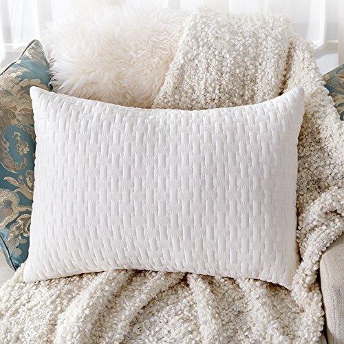 Sable Shredded Memory Foam Pillow for Sleeping Side Sleepers, CertiPUR-US & FDA Registered w/...