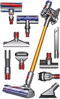 Dyson V8 Absolute Cordless HEPA Vacuum Cleaner + Manufacturer's Warranty + Quick Release Extension Hose + Stubborn Dirt Brush + Mattress Tool Bundle