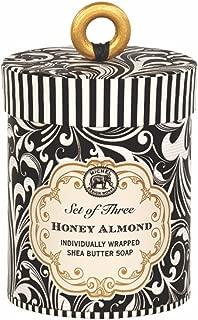 Michel Design Works 3 Piece Honey Almond Triple Milled Soap Gift Set