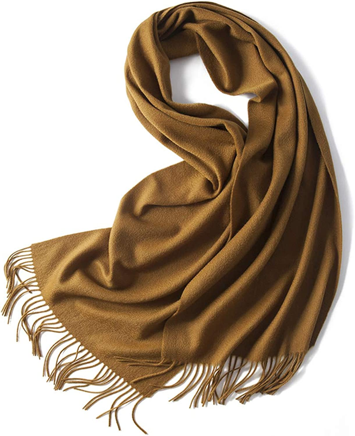 Cold Weather Scarves Scarf Shawl Ladies Scarf Men and Women Scarf Water Ripple Solid color Scarf Spring and Autumn Cashmere Scarf Ladies Wrap Fringe Shawl New Year Gift Wraps