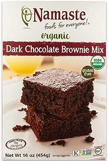 Namaste Foods Gluten Free Organic Dark Chocolate Brownie Mix, 16 oz