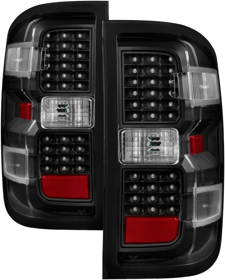 Euro LED Style Tail Light for Chevy - 1500 2500 人気 新色 Silverado 14-18