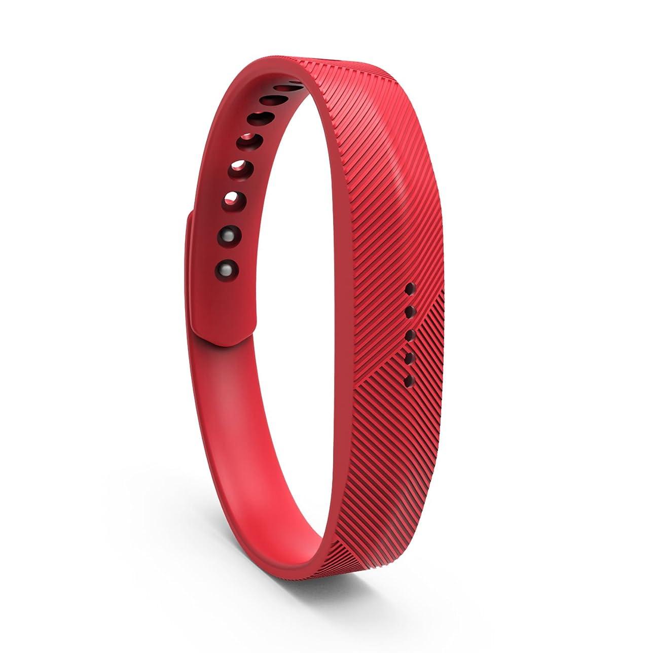レイア排出バターTencloud Fitbit Flex 2交換用リストバンドシリコストラップ Flex 2スポーツ アウトドア 機能性インナー アクセサリー リストバンド