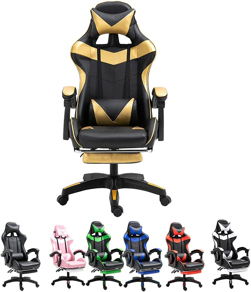 i•WARMER Gaming Chair Office price Ergonomic Max 85% OFF with Foot Reclining