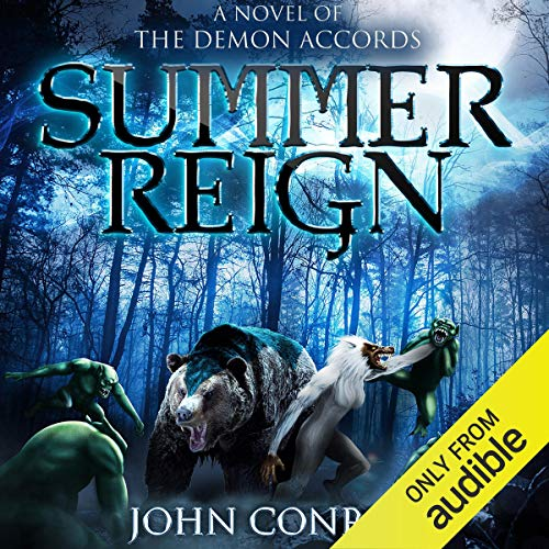 Summer Reign audiobook cover art