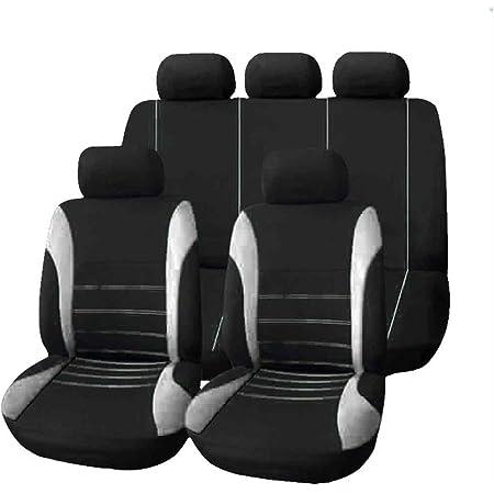 Kkmoon 9 Stücke Universal Auto Sitzbezug Tuch Kunst Auto Innendekoration Schützen Abdeckungen Für Vier Jahreszeiten Auto