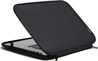 INNTZONE Stand-Type Laptop Sleeve case Bag Pouch Cover 11.6 Inch Notebook Carrying Case - Black