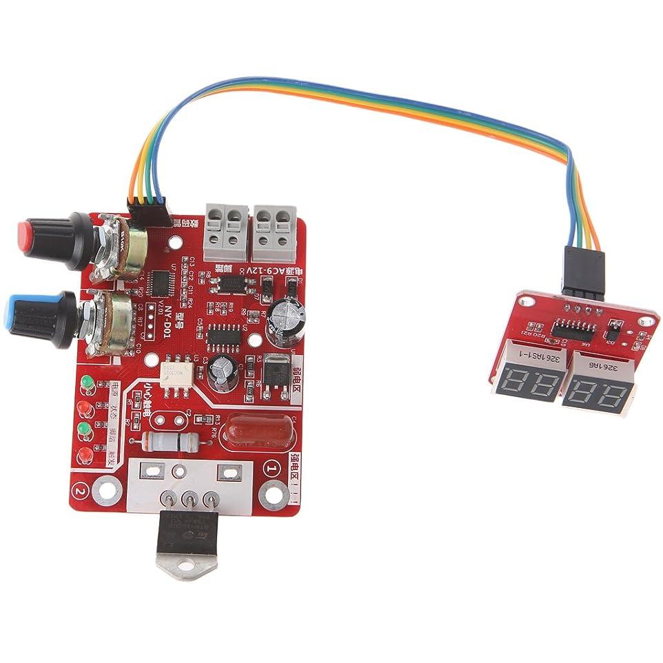 虚栄心指定形状Biuuu スポット溶接機時間制御ボード40Aデジタルディスプレイ付き電流コントローラ