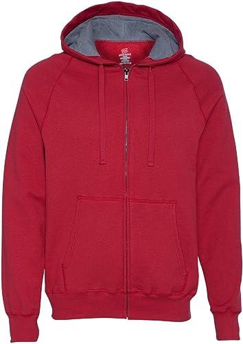Sweat ¨¤ capuche zipp¨  ¨¤ capuchon Nano pour homme, Vintage rouge, grand