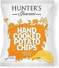Hunter's Gourmet Hand Cooked Potato Chips Sweet Chilli Chutney - 125gm